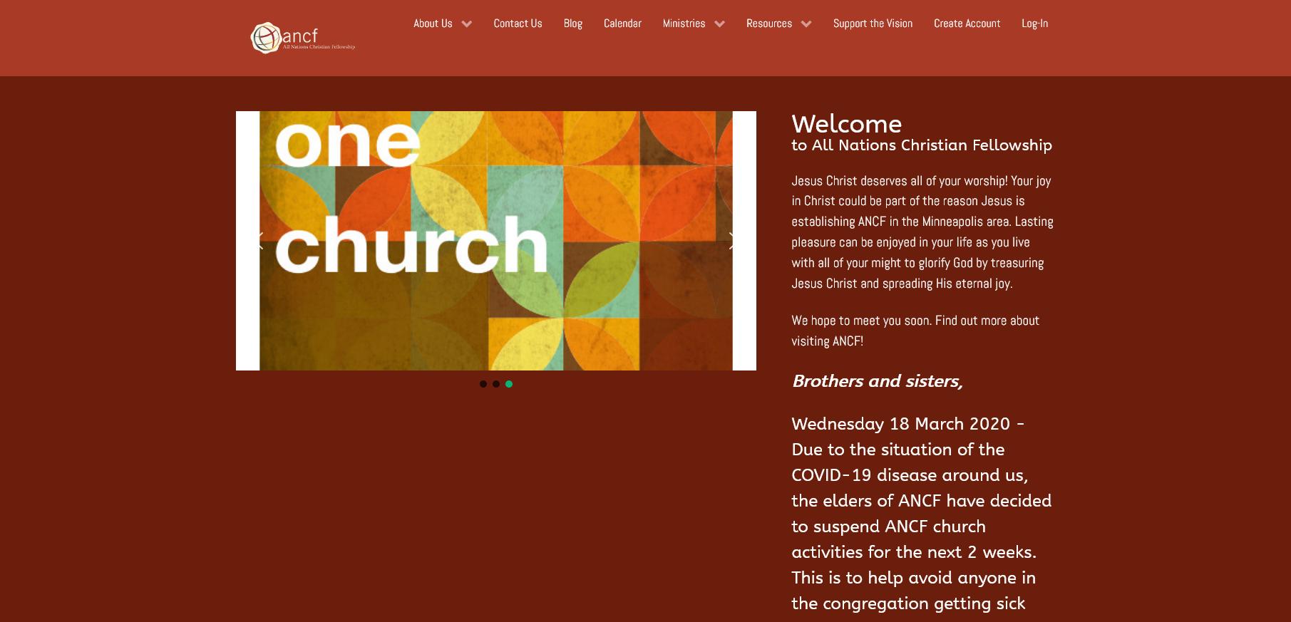 ANCF - All Nations Christian Fellowship