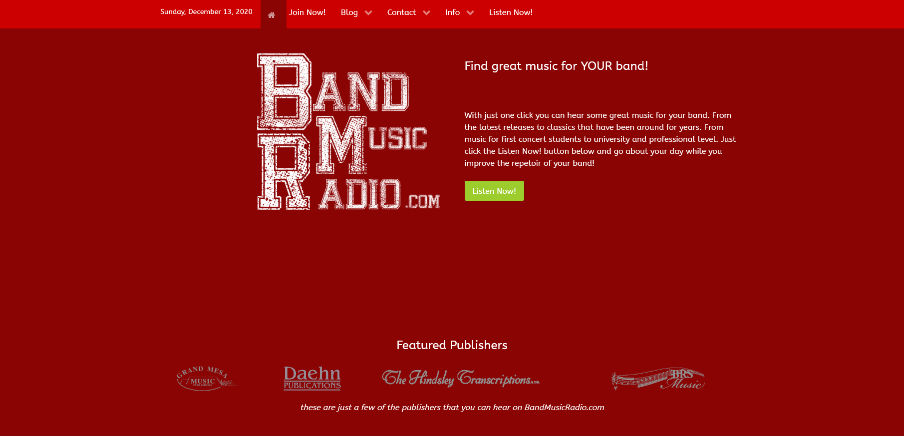 Band Music Radio