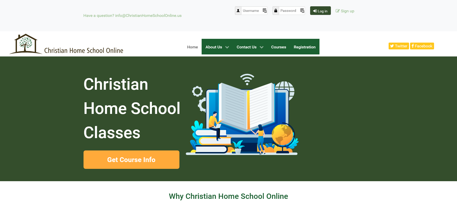Christian Home School Online