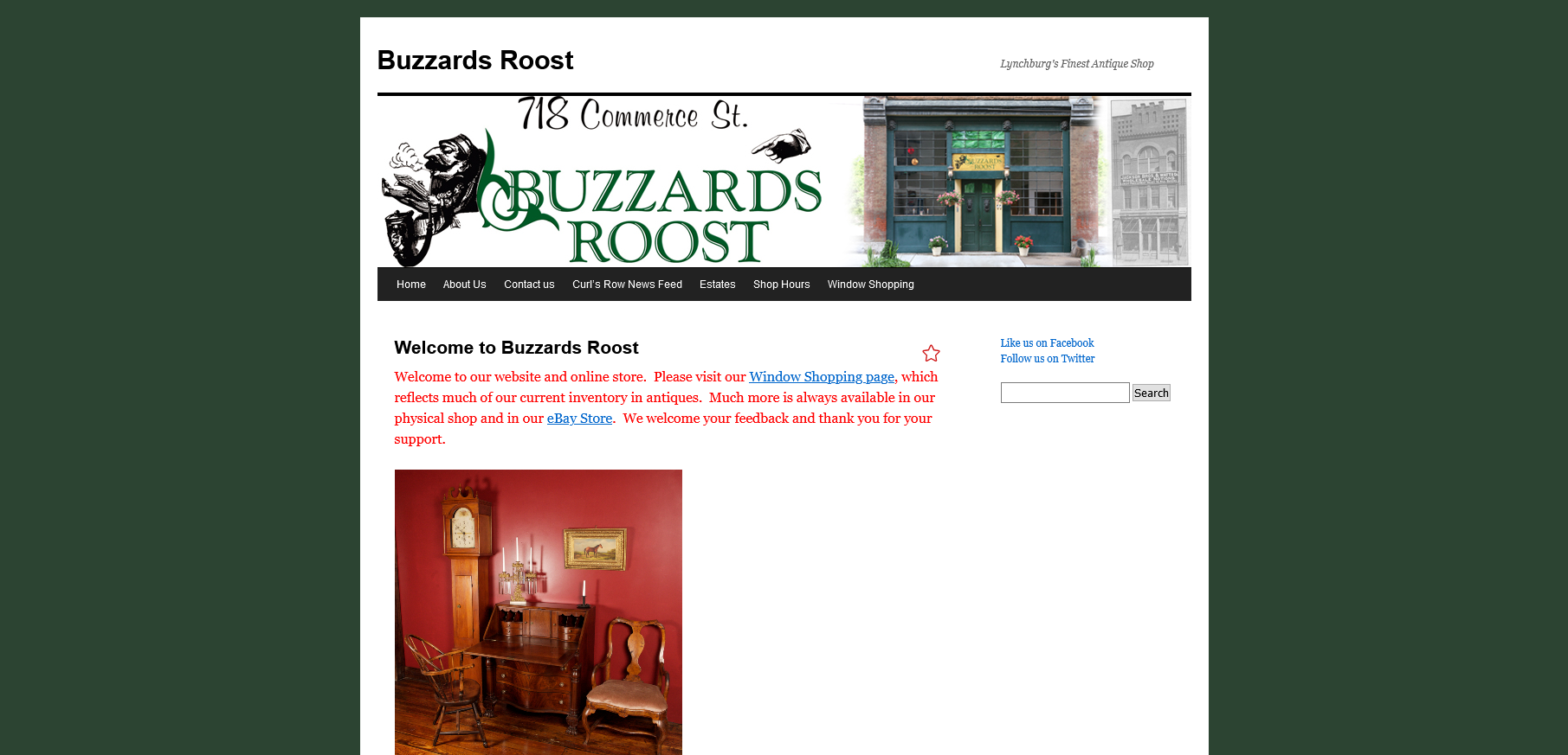 Lynchburg's Buzzards Roost
